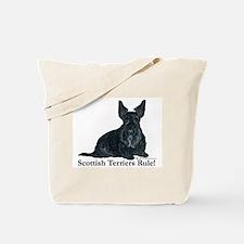 Scottish Terriers Rule! Tote Bag