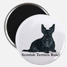 Scottish Terriers Rule! Magnet