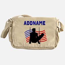 GYMNAST USA Messenger Bag