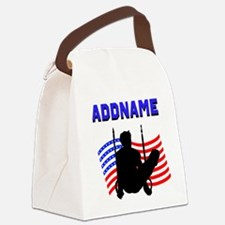 GYMNAST USA Canvas Lunch Bag