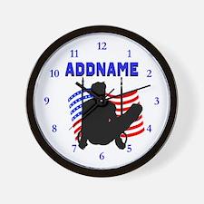 GYMNAST USA Wall Clock