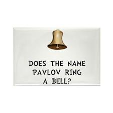 Pavlov Ring Bell Rectangle Magnet (10 pack)
