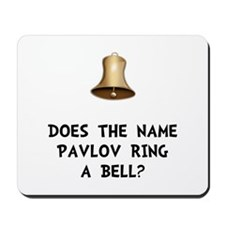 Pavlov Ring Bell Mousepad