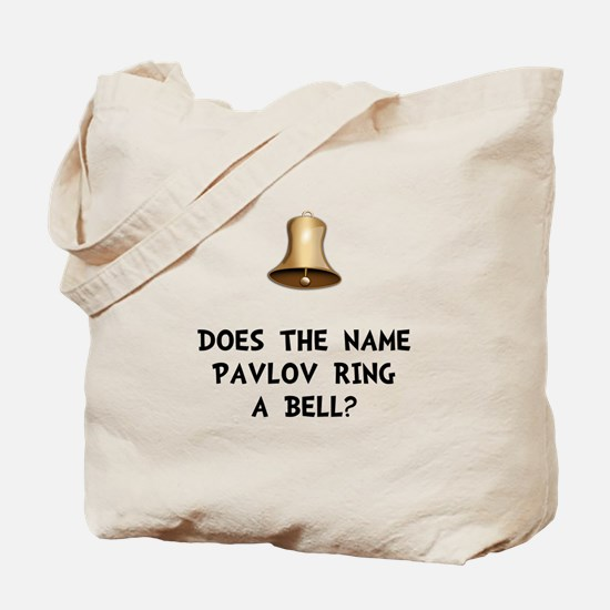 Pavlov Ring Bell Tote Bag