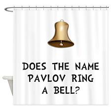 Pavlov Ring Bell Shower Curtain