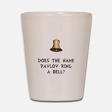 Pavlov Ring Bell Shot Glass