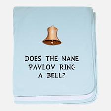 Pavlov Ring Bell baby blanket