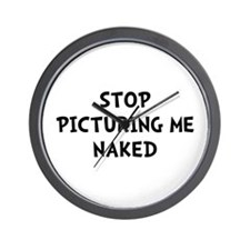 Picturing Naked Wall Clock