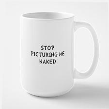Picturing Naked Mug