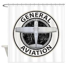 General Aviation Shower Curtain