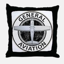 General Aviation Throw Pillow