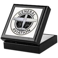 General Aviation Keepsake Box