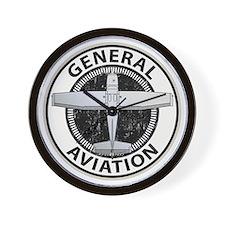 General Aviation Wall Clock