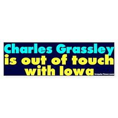 Not Charles Grassley Bumper Sticker