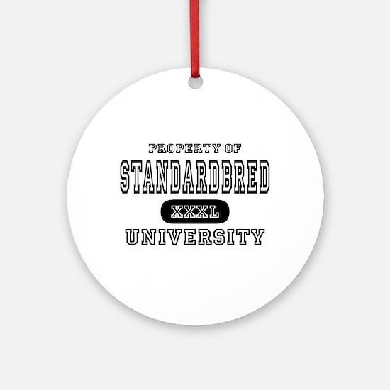 Standardbred University Ornament (Round)