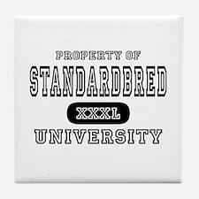 Standardbred University Tile Coaster