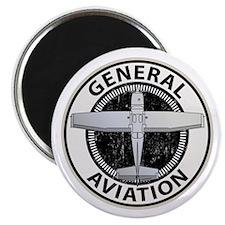 "General Aviation 2.25"" Magnet (100 pack)"