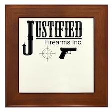 Justified Firearms Inc. Framed Tile