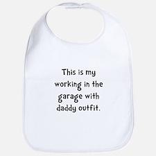 Working Daddy Garage Bib