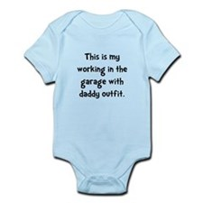 Working Daddy Garage Body Suit