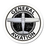 General aviation Round Car Magnets