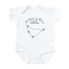 A Star is Born Capricorn Infant Onesie