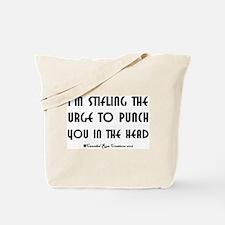 Stifling The Urge Tote Bag