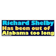 No Richard Shelby Bumper Bumper Sticker