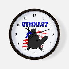 SUPERB GYMNAST Wall Clock