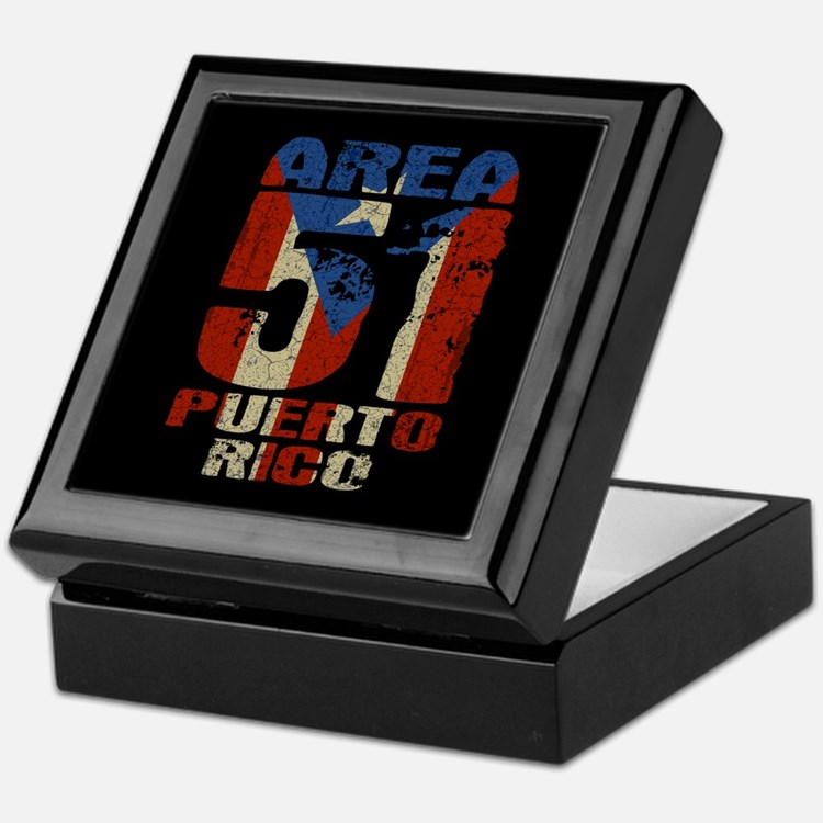 Area 51 Puerto Rico Keepsake Box