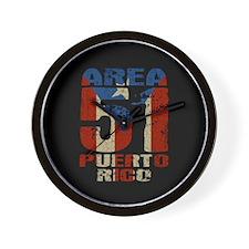 Area 51 Puerto Rico Wall Clock