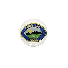 Sandy City Police Mini Button