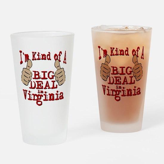 Big Deal - Virginia Drinking Glass