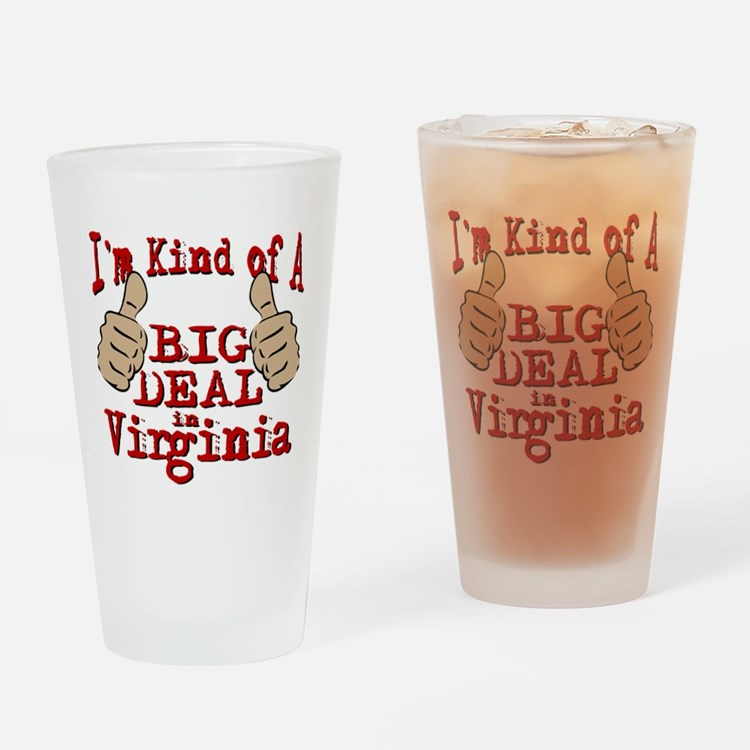 Big Deal - Virginia Drinking Glass
