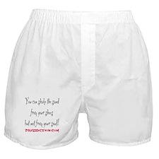 SHAKE THE SAND - WHITE Boxer Shorts