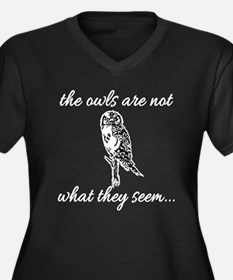 The Owls are Not What They Seem Women's Plus Size