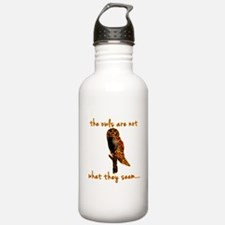 The Owls are Not What They Seem Water Bottle