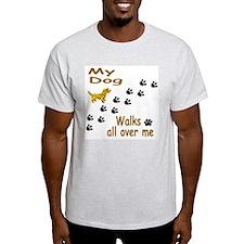 Mutt Paw Prints T-Shirt