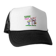 Zombie Easter Bunny Trucker Hat