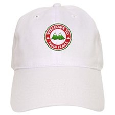 Welcome To Twin Peaks Baseball Baseball Cap