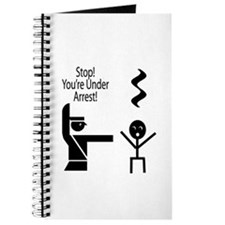 Stop you're under a rest music humour Journal