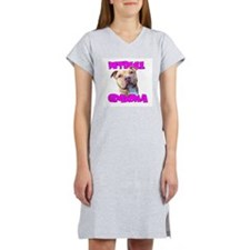 Pitbull grandma Women's Nightshirt