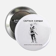 "Captain Corqui Illustrations 2.25"" Button"