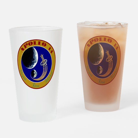 Apollo 14 Drinking Glass