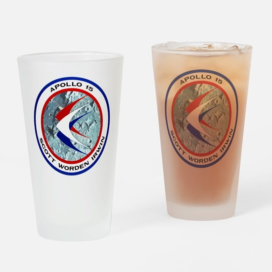 Apollo 15 Drinking Glass