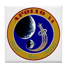 Apollo 14 Tile Coaster