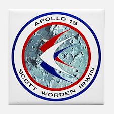 Apollo 15 Tile Coaster