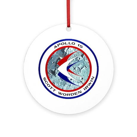 Apollo 15 Ornament (Round)