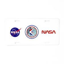 Apollo 15 Aluminum License Plate