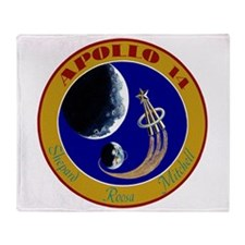 Apollo 14 Throw Blanket